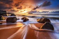 Digital photography school website post on sunrise and sunset photography.  Photograph Samudra Indah by Bobby Bong on 500px