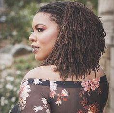 How Sisterlocks look when they settle nattestwistouts Dreadlock Hairstyles, African Hairstyles, Goth Hairstyles, Black Hairstyles, Natural Haircut Styles, Curly Hair Styles, Sisterlocks, Great Hairstyles, Everyday Hairstyles