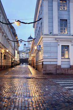Christmas in Helsinki Finland Croatia Travel, Thailand Travel, Bangkok Thailand, Hawaii Travel, Italy Travel, Beautiful Landscape Wallpaper, Beautiful Landscapes, Helsinki Things To Do, Beautiful World