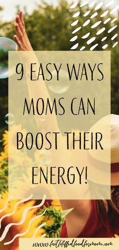 9 Easy Ways Tired Moms Can Boost Their Energy Naturally! Are you a Mom with little to no energy? These simple ideas and tips will help! Tired Mom, Feel Tired, Getting More Energy, Filling Food, Energy Quotes, Energy Boosters, After Workout, Natural Energy, Energy Level