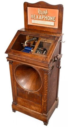 Regina Hexaphone Coin-Operated Phonograph, c. 1915