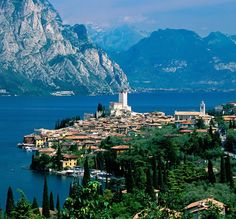 Bardolino is one of the most stunning towns on Lake Garda...