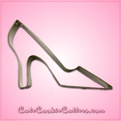 """Wish you could shoe shop 24/7? Have we got the shoe for you! This lovely pump measures about 4.25"""" tall, 6"""" wide and made of tin-plated steel that is ready to bring the fun of your favorite accessory"""