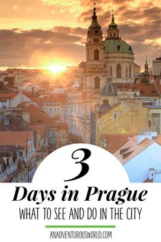 3 Days in Prague Itinerary - Are you heading to Prague for an amazing weekend away? Then heres how to plan the perfect 3 days in Prague including the best things to see & do! >> Click through to read the full post!