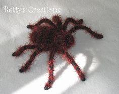 crochet spider for halloween (german tutorial)