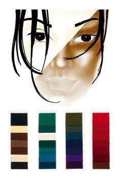 Farbtyp dunkel-warm-kalt: die perfekten Farben
