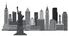 Find New York City Skyline Statue Liberty stock images in HD and millions of other royalty-free stock photos, illustrations and vectors in the Shutterstock collection. Thousands of new, high-quality pictures added every day. Skyline Image, Nyc Skyline, Free Nyc, Skyline Silhouette, Black And White Illustration, Willis Tower, New York City, Skyscraper, Stock Photos