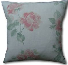 Cushion Covers made in Laura Ashley Albertine Blush Pink Floral Pillows Laura Ashley Pillows, Cushion Covers, Pillow Covers, Purple Pillows, Floral Cushions, Blush Pink, Throw Pillows, Check, How To Make