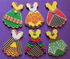 Cinco de Mayo fiesta dresses cookies