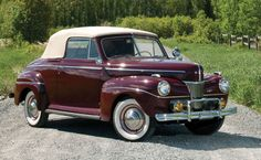 1941 Ford Super Deluxe Convertible Club Coupe