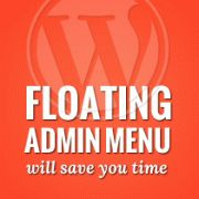 How to Float Your WordPress Admin Menu to Save Time #wordpress #wordpressthemes #wordpresstips