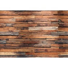 Brewster Wallcovering Wall Murals Faux Finish Textures Murals at Lowe's. You don& have to live in a luxurious loft apartment to enjoy the rustic beauty of a reclaimed wood wall! Beautifully constructed, this industrial Vinyl Wall Panels, Wood Panel Walls, Wooden Walls, Wood Wall Paneling, Rustic Wood Walls, Wood Wall Decor, Peel And Stick Wood, Wood Wallpaper, Wallpaper Roll