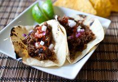Machaca Tacos | The Crepes of Wrath