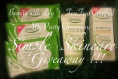FiveTwo Certified: Simple Skincare Giveaway !!!