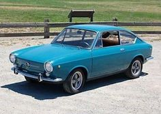 1968 Fiat 850 Coupe For Sale Front