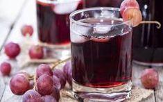 Suco Detox de Uva Para Combater Inflamações