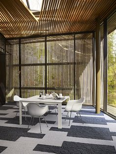 Interface | Modular Carpet Tile | Narratives | NS230 Darjeeling | NS231 Oolong | Biophilic design using Interface #skinnyplanks