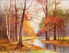 """Autumn Glade"" by Robert Wood"