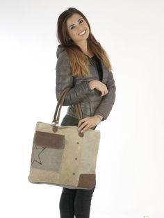 Sunsa Damen Vintage Tasche Canvas Schultertasche Handtasche