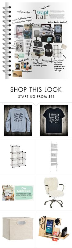 """""""I want it all. get it done while I'm sleep in please?"""" by caroline-buster-brown ❤ liked on Polyvore featuring interior, interiors, interior design, home, home decor, interior decorating, Room Essentials, Safco, PBteen and Urban Outfitters"""