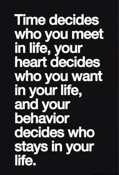 Time decides