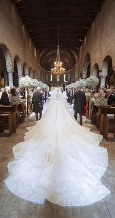 Read all about Victoria Swarovski's million dollar dress embellished with Swarovski crystals to marry Werner Mürz in an over-the-top Italian wedding Big Wedding Dresses, Stunning Wedding Dresses, Princess Wedding Dresses, Perfect Wedding Dress, Wedding Looks, Bridal Looks, Bridal Dresses, Bridal Gown, Celebrity Wedding Photos