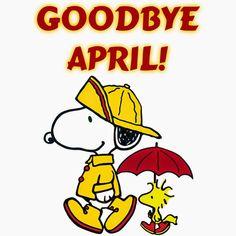 Snoopy Goodbye April