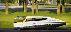 Stella, world's first solar-powered family car. (Photo: Bart van Overbeeke) #cars #solarcar #solarenergy