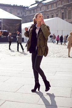 love the jacket. #Fashion #Style