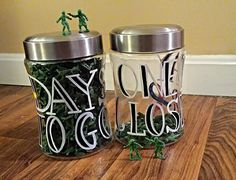 Deployment Countdown Jars- Days to Go- One Day Closer Hey, I found this really awesome Etsy listing at https://www.etsy.com/listing/227632699/deployment-countdown-jars