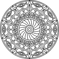 cool Mandala Coloring Pages