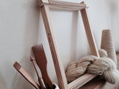 Beginners weaving loom kit by Maryanne Moodie  by MaryanneMoodie