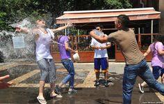 Armenians Celebrate The Vardavar Water Festival