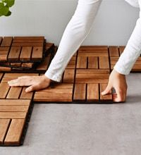 IKEA outdoor flooring RUNNEN