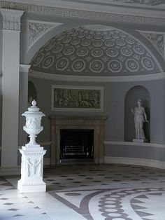 alcove in Entrance Hall of Osterley Park House - Robert Adam