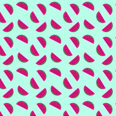 #melon #watermelon #summer #pink #green #pattern #patterndesign #textile #fashion #graphic #abstract vector #simple #fun #cute #art #personal #food #foodie #tasty