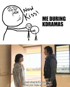 Me during K dramas, especially Boys Over Flowers and Dating Agency Cyrano.