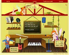 De nieuwe website van Muziekstudio Leonie // New website of Music studio Leonie