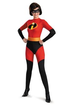 The Incredibles Mrs. Incredible Women's Costume