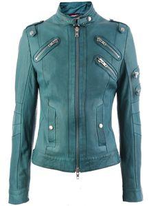 emerald leather jacket indira spring2012 veryeickhoff