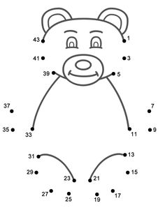 This Teddy Bear connect the dots page features a dot to dot puzzle for Mother's Day. This activity worksheet helps kids practice connecting the dots, counting by (Connect . The page is printable and can be used in the classroom or at home. Teddy Bear Images, Teddy Bear Day, Teddy Bears, Corduroy Activities, Bear Activities Preschool, Preschool Worksheets, Corduroy Bear, Dot To Dot Puzzles, Counting Bears