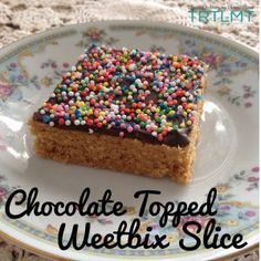 Weetbix Slice is always a winner. I have a Weetbix Slice with hidden goodies recipe already