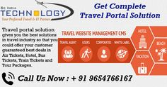 We provide simplest, cheapest & user friendly online Travel Portal (B2B, B2C, White Label Solutions and XML/API Integration). more detail visit now http://www.travelportalsolution.com