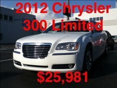 Here is a great car for someone looking to profit the savings on this 2012 Chrysler 300 Limited with Heated Leather and more!  Call 412-695-3929 or 724-288-4791 for more information!