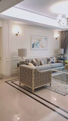 The chaise lounge is usually seen in a psychiatrist's office where a patient lies down Living Room White, Living Room Colors, Formal Living Rooms, Small Living Rooms, Home Room Design, Interior Design Living Room, Living Room Designs, Interior Decorating, Luxury Homes Interior