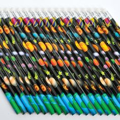 - Unique and special pencils - Pencils for every occasion - Great for personalized school supplies - Perfect for eccentric writers - A large variety to choose from WARNING: CHOKING HAZARD -- Small Par