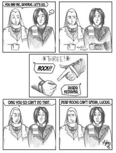 Snape taught me the BEST Rock Paper Scissors trick so now I beat everyone (almost)