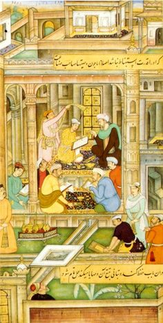Mughal miniature - intricate & beautiful