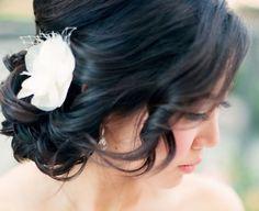 22 Gorgeous Wedding Hairstyles We adore Hairdo Wedding, Mod Wedding, Wedding Hair And Makeup, Bridal Hair, Hair Makeup, Unique Hairstyles, Bride Hairstyles, Hairstyle Ideas, Wedding Hair Inspiration