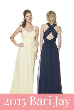 The newest bridesmaid dresses from Bari Jay!
